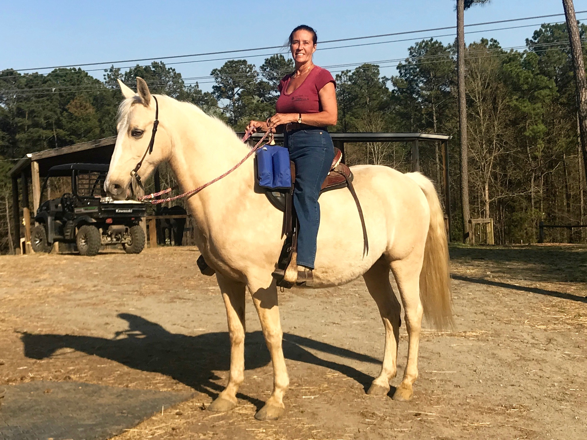 chasity ridden by carla