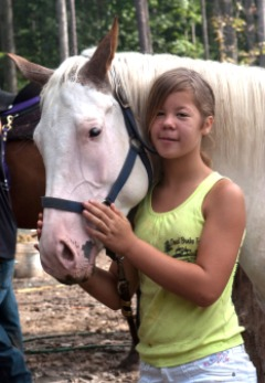 Little Girls Love Horses