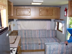 Camper for Overnight Camping
