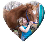 Girl Gives Horse a Kiss